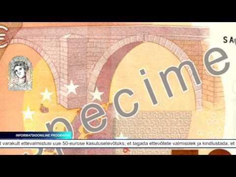 Eesti Pank tutvustas uut 50-eurost pangatähte