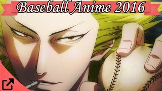 Top 10 Baseball Anime 2016 (All the Time)