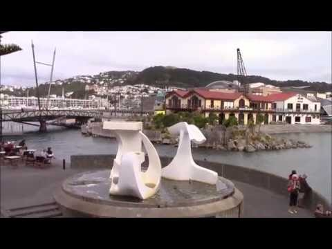 Wellington Harbour, the culture capital of New Zealand