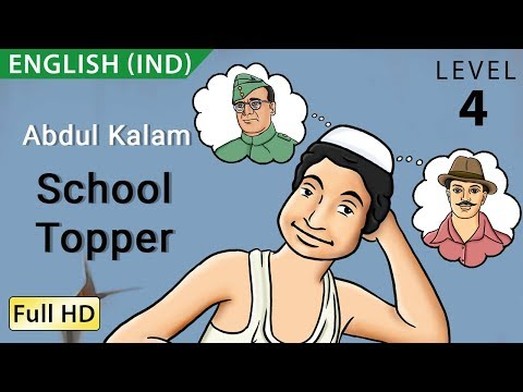 Abdul Kalam, School Topper: Learn English (IND) - Story for Children