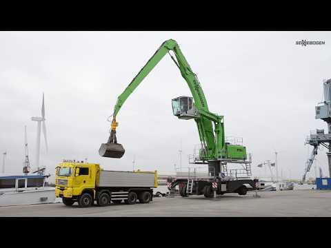 SENNEBOGEN 870 E-Series Material Handler - Ship unloading - Netherlands