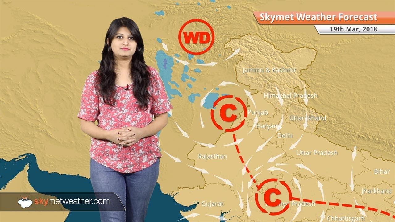 Weather Forecast for Mar 19: Rain in Bengaluru, Karnataka, Kerala
