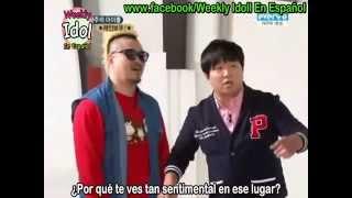 [Sub Español] 111015 Weekly Idol Rainbow Parte 1