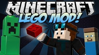 Minecraft | LEGO! (Order, Build and Relive Childhood!) | Mod Showcase [1.6.2] thumbnail