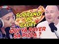 SOPRANO vs CAUET : Qui va payer sa pizza ? C'Cauet sur NRJ
