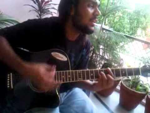 LEARN on Guitar Kabhi Na Kabhi to milo ge hamko yakeen h on .mp4 ...