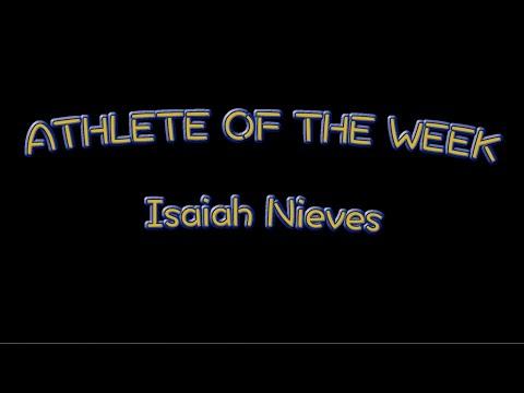 Athlete of the Week: Isaiah Nieves - Lyons Township High School in La Grange, Illinois