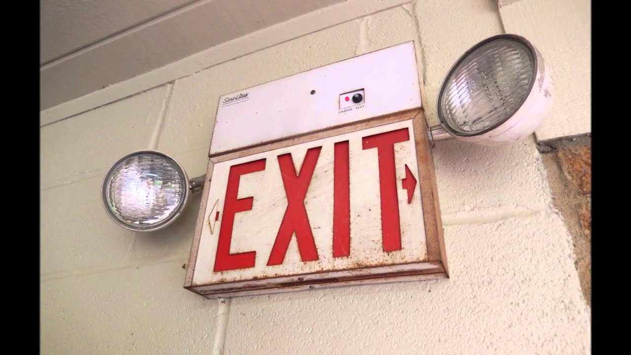Exit Sign Amp Emergency Lighting Compilation 1 Youtube