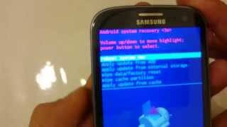 Galaxy S3: How to Wipe Cache Partition- May Help Performace