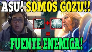 IMPARABLES!!| SMASH JUNTO A SU PARTY SE B4S1L4N EN FUENTE ENEMIGA!!| DOTA 2 PRO RANKED