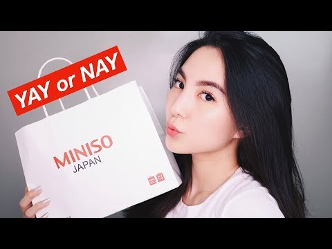 MINISO One Brand Makeup Tutorial - First Impression & Honest Review