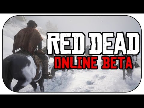 Red Dead Redemption 2 ONLINE BETA! (How to get Access & Red Dead Online Gameplay Details!)