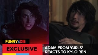 Adam From 'Girls' Reacts To Kylo Ren