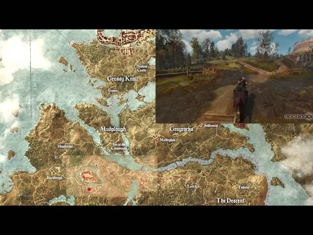 The Witcher 3: Wild Hunt World Map Explained In New One Minute Video ...