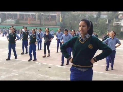 Tibetan Children Village Dharamsala 56th Anniversary rehearsals