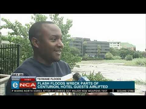 Khaya talks Centurion to flood victims - eNCA