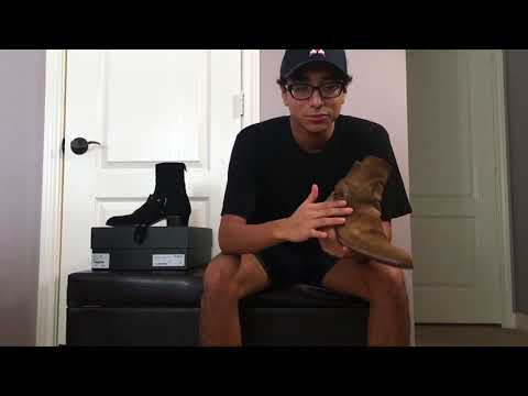 Saint Laurent Jodhpur vs Wyatt Harness Boot
