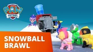 PAW Patrol | Snowball Brawl | Toy Episode | PAW Patrol Official & Friends