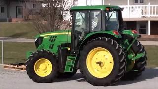 Sharp John Deere 6125M Tractor! 1 Owner Machine!