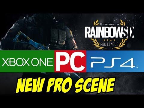 Rainbow Six Siege NEW PS4 & Xbox One Major League PC Challenger League Go4