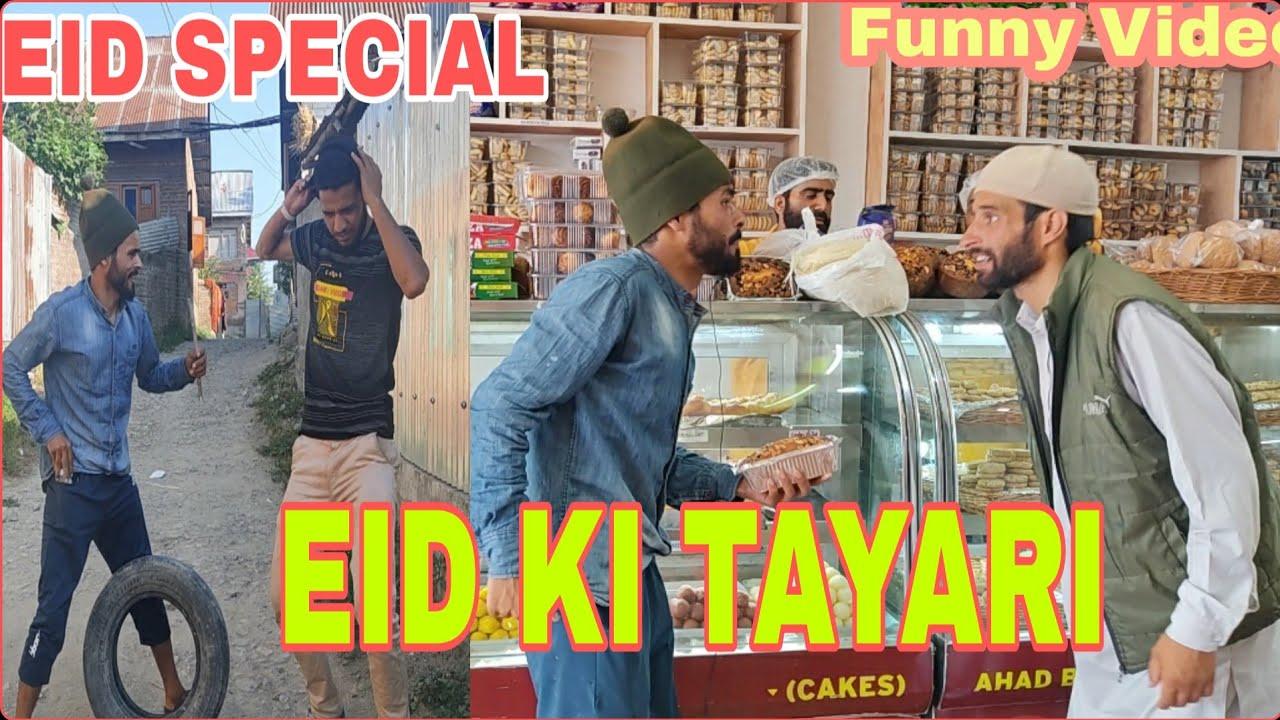 EID Ki Tayari funny Video by #kashmiridoublefaze//😄😄😄