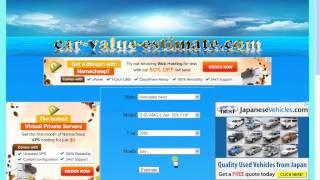 Car Value Calculator | Car Valuation
