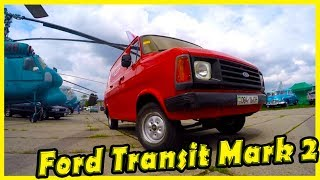 Ford Transit Mark 2 Review. Classic Cars Show in Kiev 2018. Vintage Vehicles and Trucks