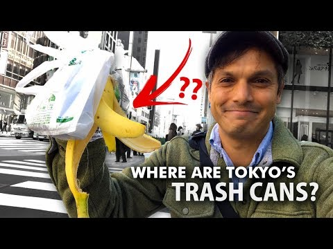 Tokyo's Public Trash Can Problem | Garbage in Japan