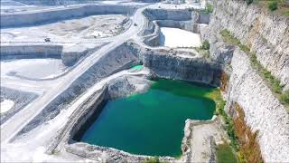 Thornton Quarry, Thornton Illinois, Phantom 4 footage