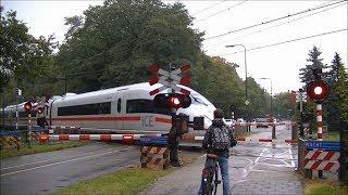 Spoorwegovergang Driebergen-Zeist // Dutch railroad crossing