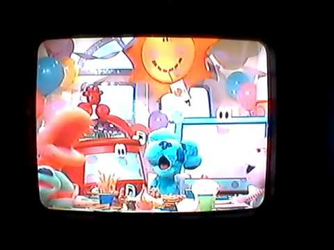 Opening To Blue S Room Holiday Wishes 2005 Vhs Youtube