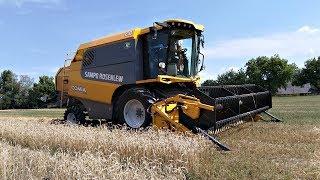 Žně 2018 u soukromníka - Sklizeň pšenice |Sampo Rosenlew Comia C8|