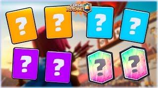 ¡¡ LAS 8 NUEVAS MEJORES CARTAS POR CALIDAD !! - Clash Royale [WithZack]