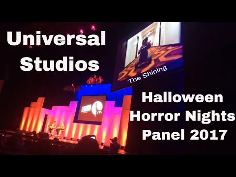 HHN panel Midsummer Scream Long Beach 2017