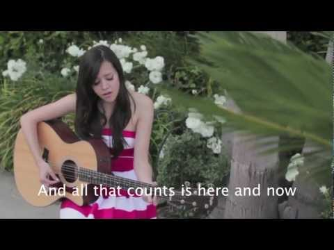 Glad you came - The Wanted (cover) Megan Nicole LYRICS