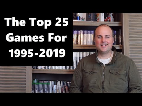 Top 25 Games 1995 to 2019 Best Selling