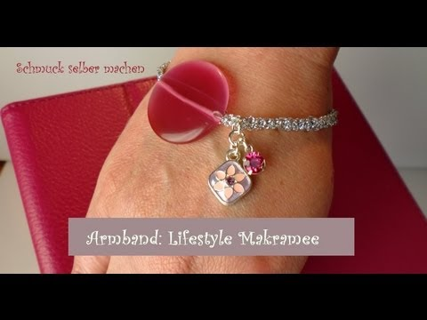 schmuck selber machen armband lifestyle makramee youtube. Black Bedroom Furniture Sets. Home Design Ideas