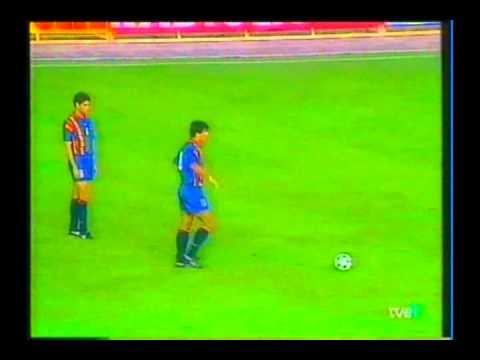 1994 (October 12) FYR Macedonia 0-Spain 2 (EC Qualifier).avi