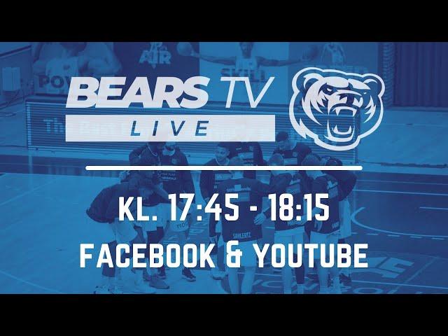 BEARS TV LIVE | DM-finaleserien | Kamp 1 vs Horsens IC