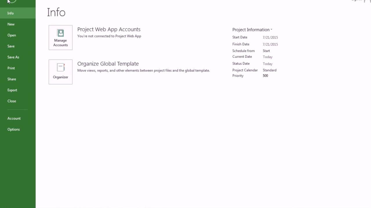 Học Microsoft project 2013 trong 18 phút