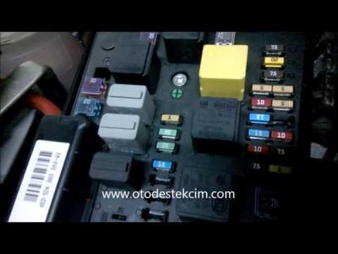 Opel Astra Sigorta Kutusu - Fuse Box - YouTube