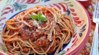 One Pot Spaghetti & Meat Sauce