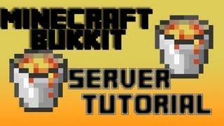 [1.6.2]How To Make A Minecraft Server: Craftbukkit Server! [Bukkit] [Super Easy!] (2013) (HD)