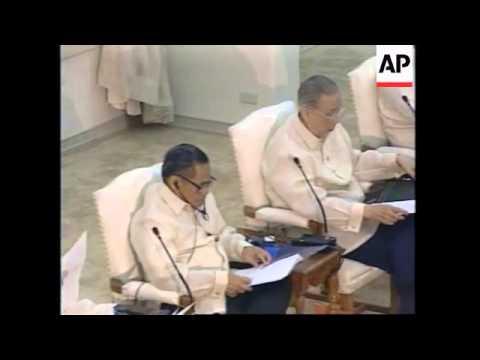 PHILIPPINES: MANILA: APEC SUMMIT: PHOTO CALL