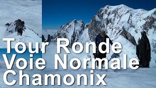 Tour Ronde Voie Normale alpinisme ski de randonnée Chamonix Mont-Blanc - 11234