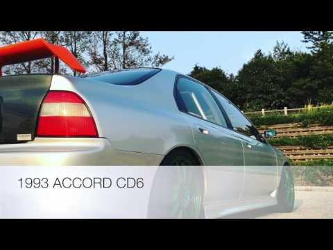 ACCORD (CD6-H22A ITB's)in TOUGE