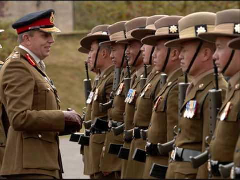 Brigade Of Gurkhas March Youtube