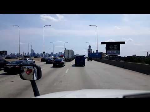 BigRigTravels LIVE! Chicago, Illinois to Gary, Indiana Interstate 90 August 18, 2017