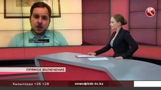 Автор скандальной видеозаписи на борту самолета в прямом эфире КТК