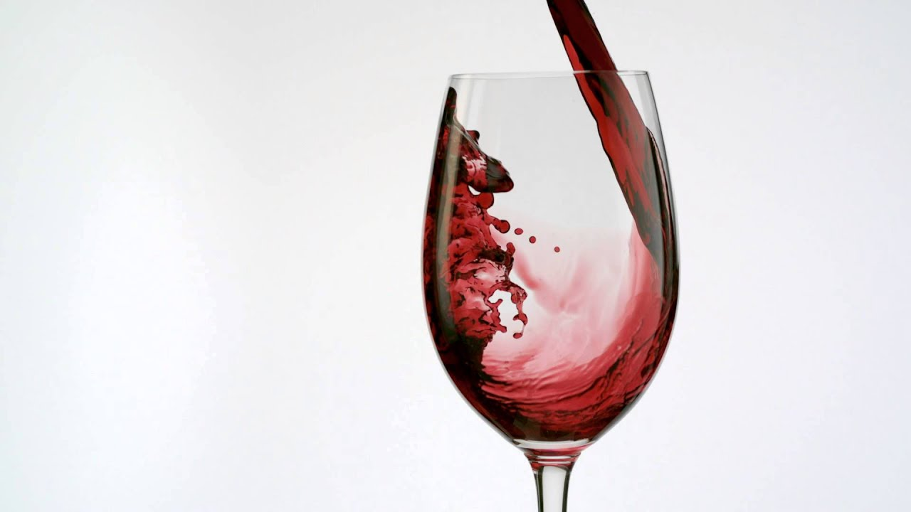 red wine pouring - YouTube